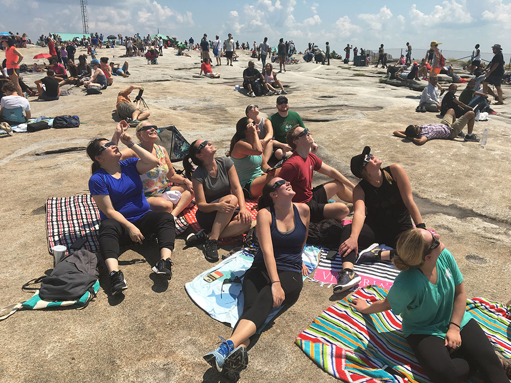 Solar Eclipse Viewing at Stone Mountain – August 21, 2017